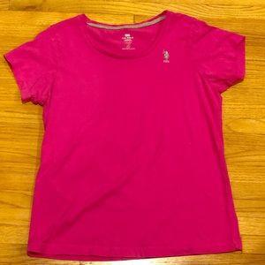 U.S Polo Shirt Pink